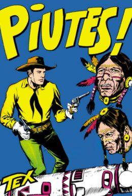 Copertina di Tex n.23 – Piutes!