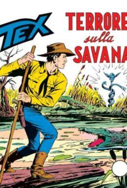 Copertina di Tex n.93 – Terrore sulla savana