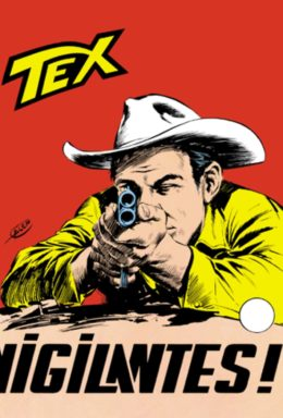 Copertina di Tex n.63 – Vigilantes!