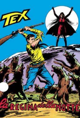 Copertina di Tex n.136 – La Regina Della Notte