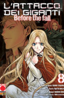 Attacco Dei Giganti Before the Fall n.8- Manga Shock n.12