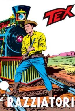 Copertina di Tex n.98 – I Razziatori