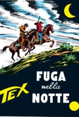 Copertina di Tex n.90 – Fuga nella notte