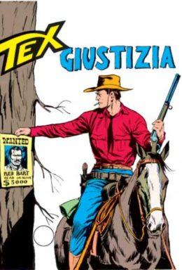 Copertina di Tex n.92 – Giustizia