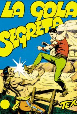 Copertina di Tex n.14 – La gola segreta