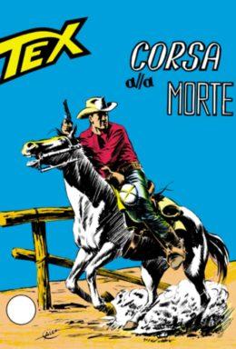 Copertina di Tex n.58 – Corsa alla morte