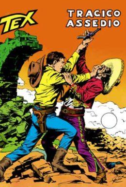 Copertina di Tex n.138 – Tragico Assedio