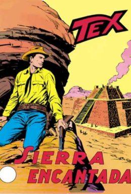 Copertina di Tex n.102 – Sierra Encantada