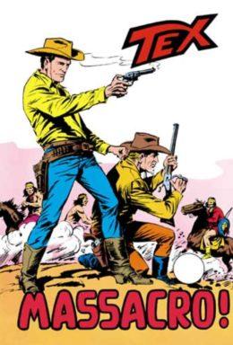 Copertina di Tex n.109 – Massacro!