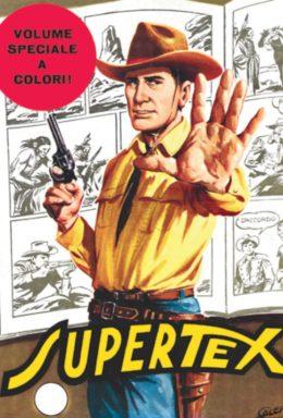Copertina di Tex n.100 – Supertex