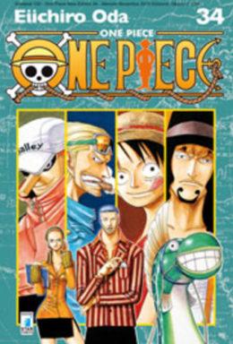 Copertina di One Piece New Edition n.34 – Greatest 130