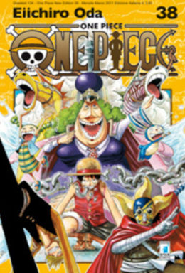 Copertina di One Piece New Edition n.38 – Greatest 134