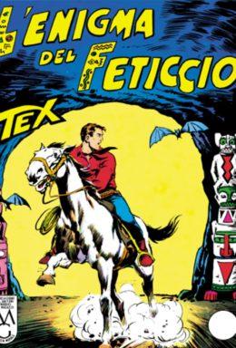 Copertina di Tex n.24 – Lenigma del feticcio