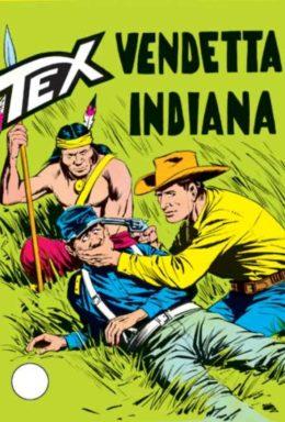 Copertina di Tex n.91 – Vendetta indiana