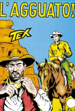 Copertina di Tex n.25 – Lagguato