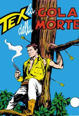 Copertina di Tex n.39 – La gola della morte