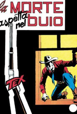 Copertina di Tex n.32 – La morte aspetta nel buio
