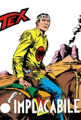 Copertina di Tex n.105 – L'implacabile