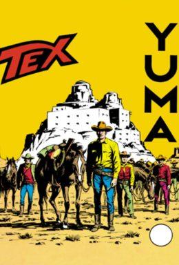 Copertina di Tex n.87 – Yuma