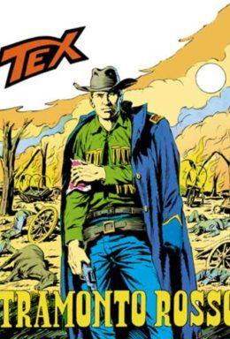 Copertina di Tex n.115 – Tramonto Rosso