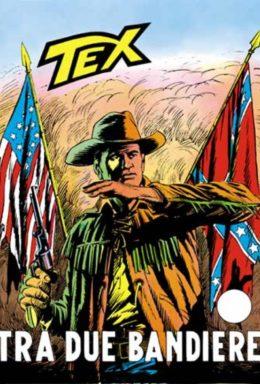 Copertina di Tex n.113 – Tra Due Bandiere