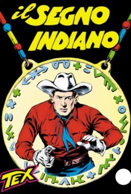 Copertina di Tex n.11 – Il segno indiano