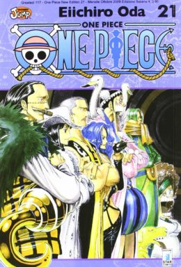 Copertina di One Piece New Edition n.21 – Greatest 117
