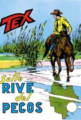 Copertina di Tex n.120 – Sulle Rive Del Pecos