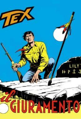 Copertina di Tex n.104 – Il Giuramento