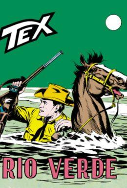 Copertina di Tex n.86 – Rio Verde