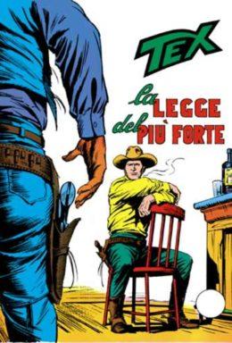 Copertina di Tex n.118 – La Legge Del Più Forte