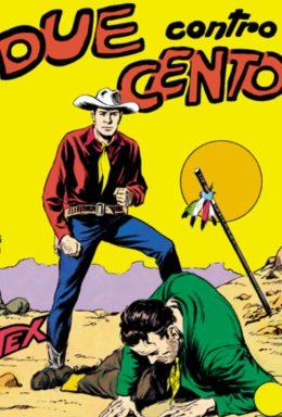 Copertina di Tex n.8 – Due contro Cento