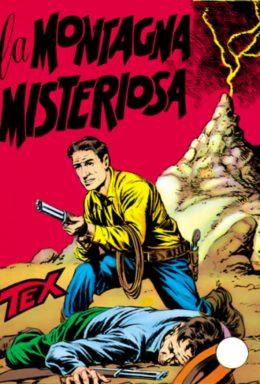 Copertina di Tex n.15 – La montagna Misteriosa