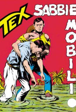 Copertina di Tex n.38 – Sabbie Mobili