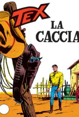 Copertina di Tex n.96 – La caccia