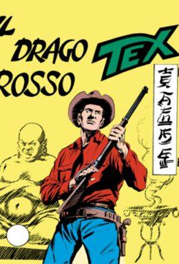 Copertina di Tex n.79 – Il drago rosso