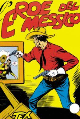 Copertina di Tex n.4 – Leroe del messico