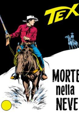 Copertina di Tex n.61 – Morte nella neve