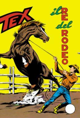 Copertina di Tex n.84 – Il re del rodeo