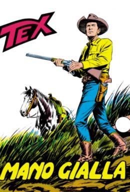 Copertina di Tex n.67 – Mano Gialla