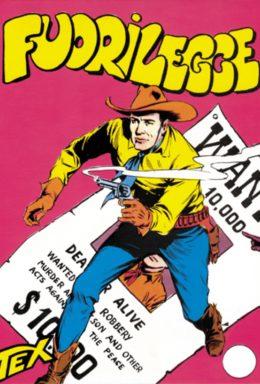 Copertina di Tex n.3 – Fuorilegge