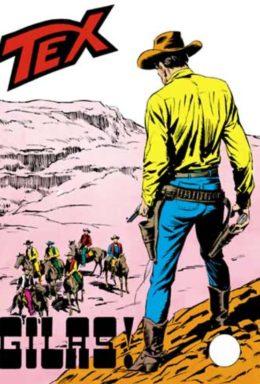 Copertina di Tex n.107 – Gilas!
