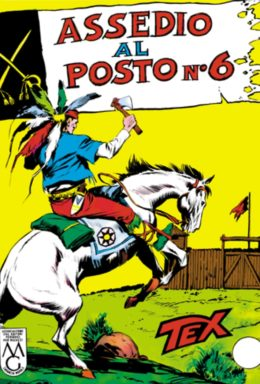 Copertina di Tex n.27 – Assedio al posto n°6
