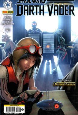 Copertina di Darth Vader n.20