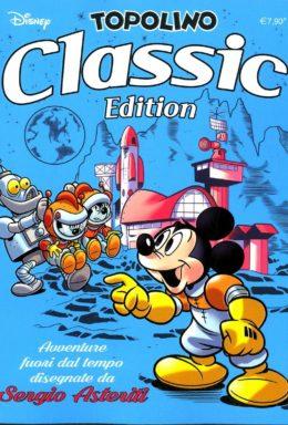 Copertina di Topolino Classic Edition Cyan