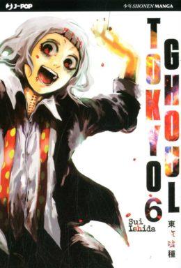 Copertina di Tokyo Ghoul n.6