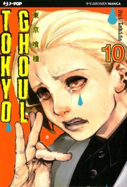 Copertina di Tokyo Ghoul n.10