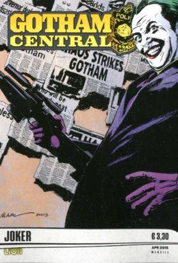 Copertina di Gotham central n.4