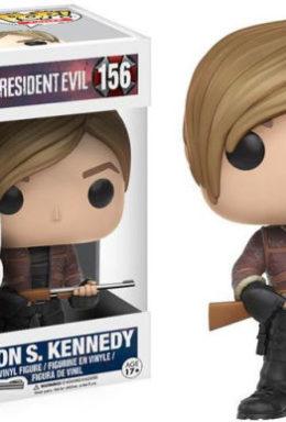 Copertina di Resident Evil Leon Kennedy Pop