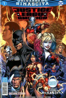 Copertina di Justice League America n.1 – Rinascita